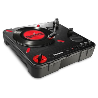Numark PT01 Scratch Portable Turntable - Angled