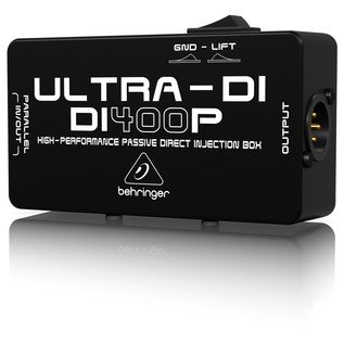 Behringer DI400P High-Performance Passive DI Box