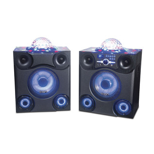 ION Mega Party Express Speakers with Integrated Light Show