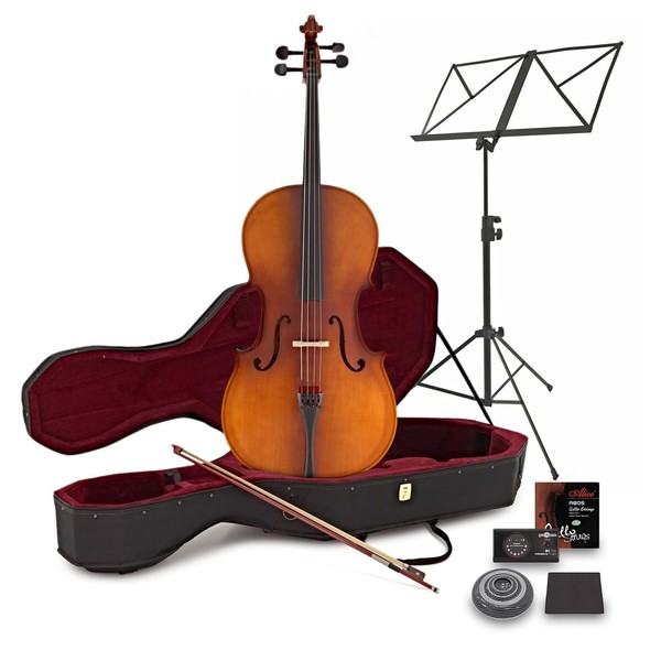 Student 4/4 Size Cello Pack