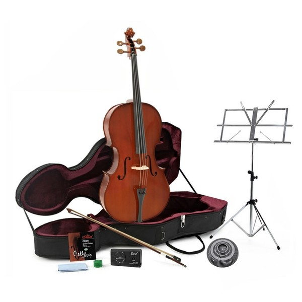 Student Plus 4/4 Cello Pack