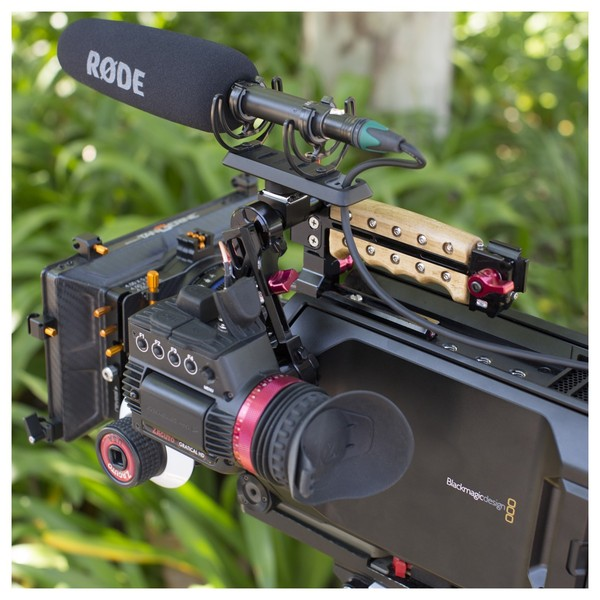 Rode SM3-R Mount with Rycote Lyre Suspension - On Camera