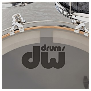 DW Drums Performance Series, 22 4 Piece Shell Pack, Black Diamond