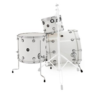 DW Drums Performance Series, 22 4 Piece Shell Pack, White Ice