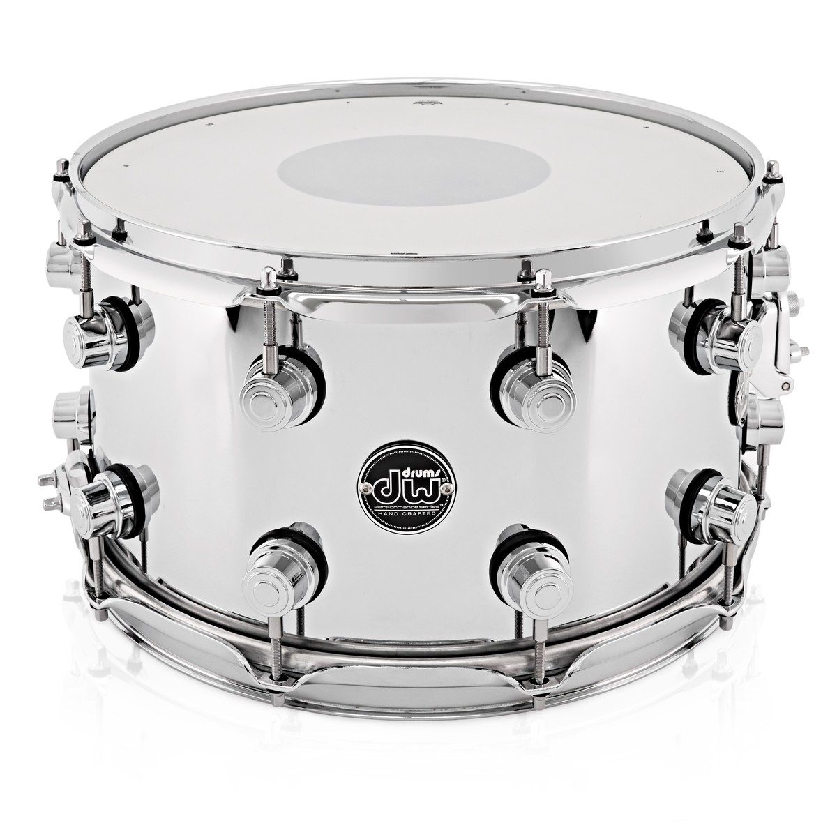 dw drums performance series 14 x 8 snare drum steel at gear4music. Black Bedroom Furniture Sets. Home Design Ideas