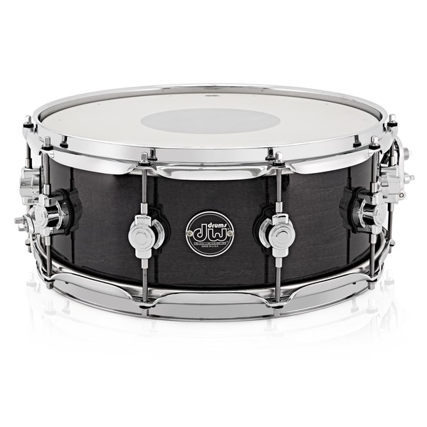 "DW Drums Performance Series 14"" x 6.5"" Snare Drum, Ebony Stain"