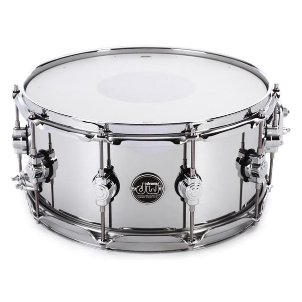DW Drums Performance Series Steel Snare Drum 14/6.5