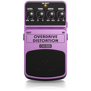 Behringer OD300 Distortion Effects Pedal
