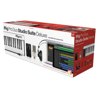 IK Multimedia iRig Pro Studio Suite Deluxe - Boxed