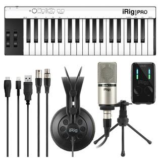 IK Multimedia iRig Pro Studio Suite Deluxe - Composite