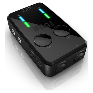 IK Multimedia iRig Pro Studio Suite Deluxe - iRig Pro Duo
