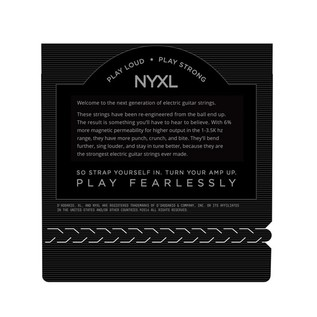 D'Addario NYXL 6-String Nickel Wound Electric Strings, 11-52