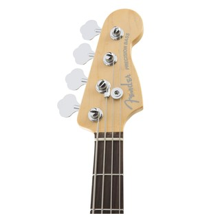 American Elite P-Bass Guitar, Olympic White