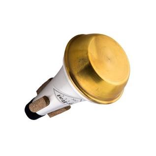 JO-RAL Piccolo Trumpet Straight Mute, Brass Bottom