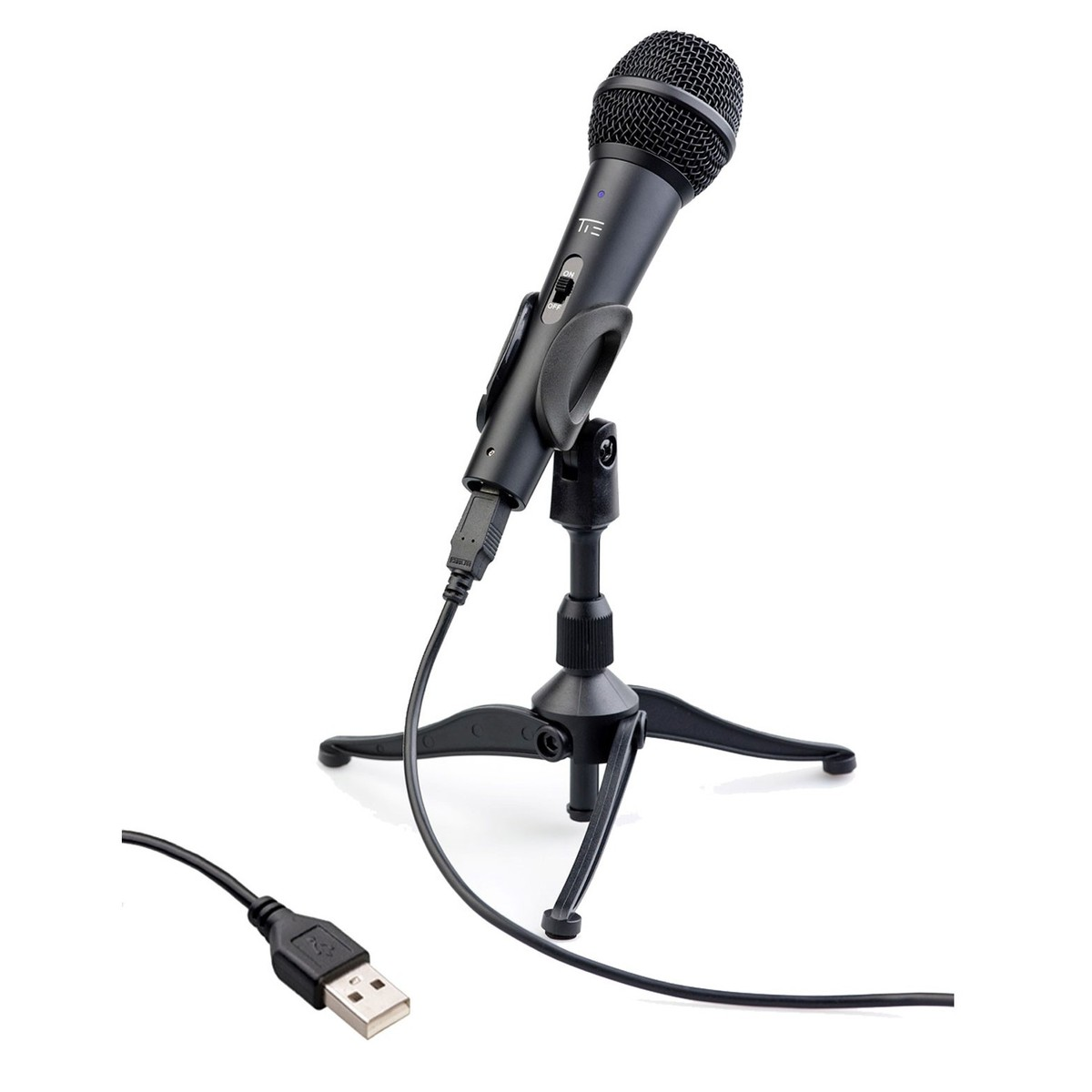 Omnitronic M 22 USB Dynamic Microphone with SZ H100