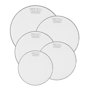 WHD Practice Mesh Drumhead - 5 Piece American Fusion Pack