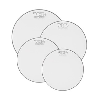 WHD Practice Mesh Drumhead - 4 Piece Fusion Pack