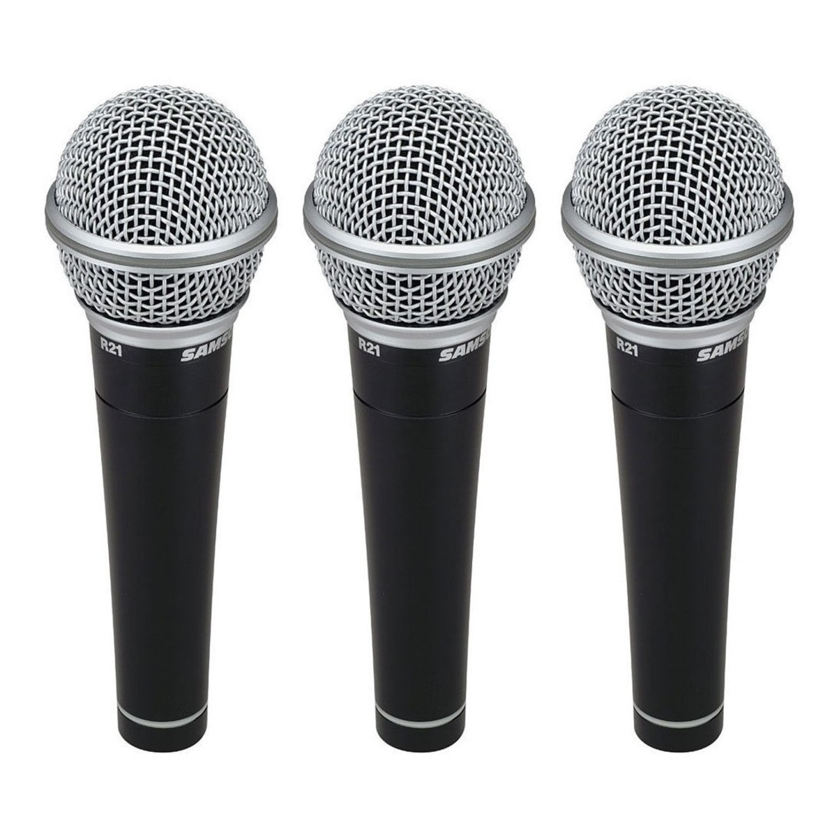 Click to view product details and reviews for Samson R21 Cardioid Dynamic Vocal Microphone 3 Pack.