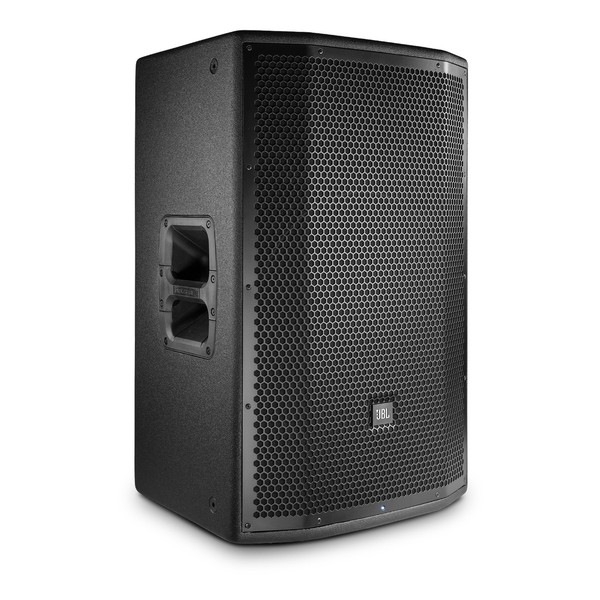 JBL PRX815W 15'' Two-Way Active PA Speaker, Front Angled Right