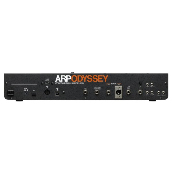 Korg ARP Odyssey Rev3, Module - Rear