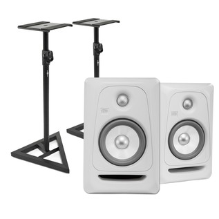 KRK Rokit RP5 G3 Active Monitor, Pair (White Noise) - Composite