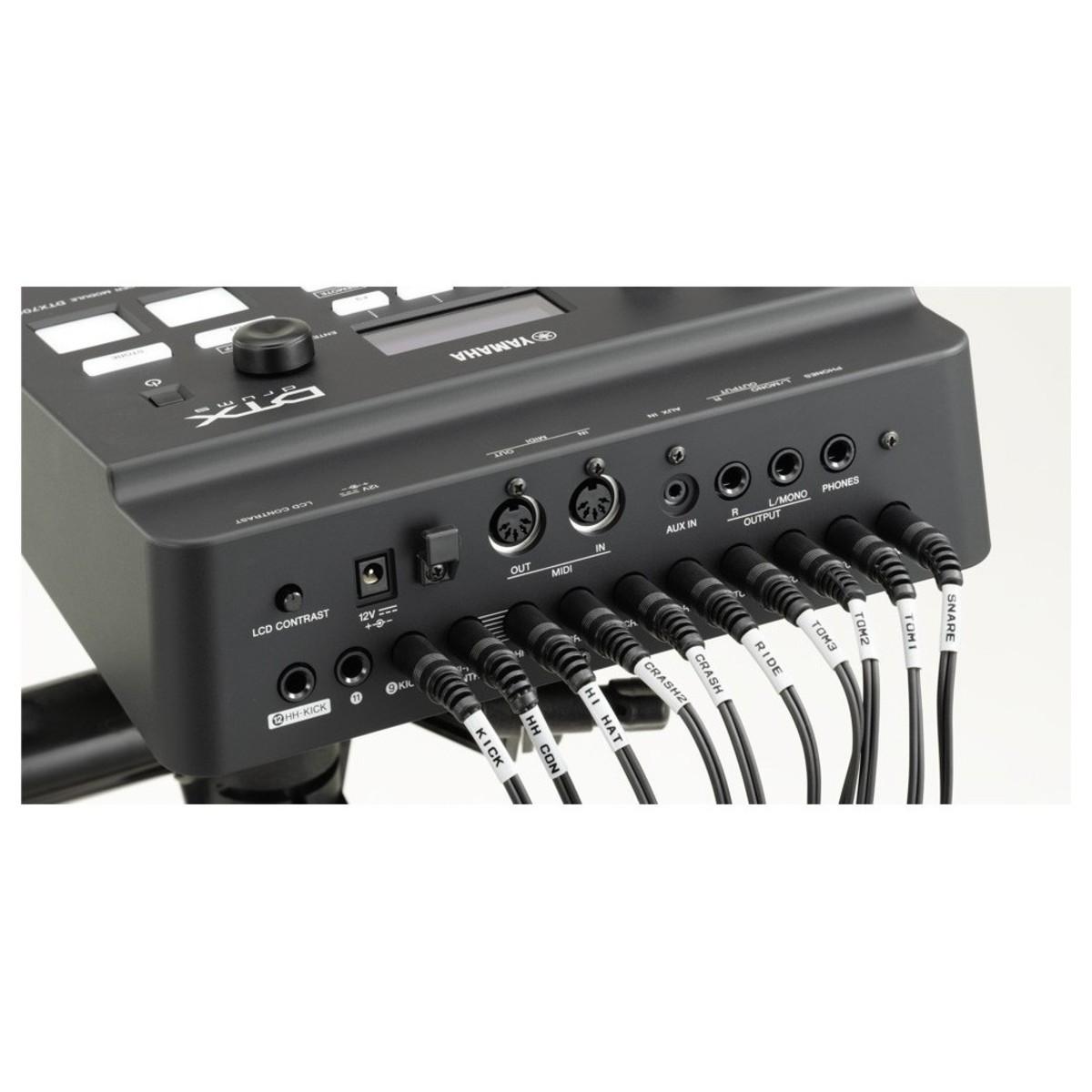 yamaha dtx700k kit de batterie lectronique gear4music. Black Bedroom Furniture Sets. Home Design Ideas