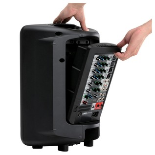 Yamaha Stagepas 400i Portable PA System Removing Mixer