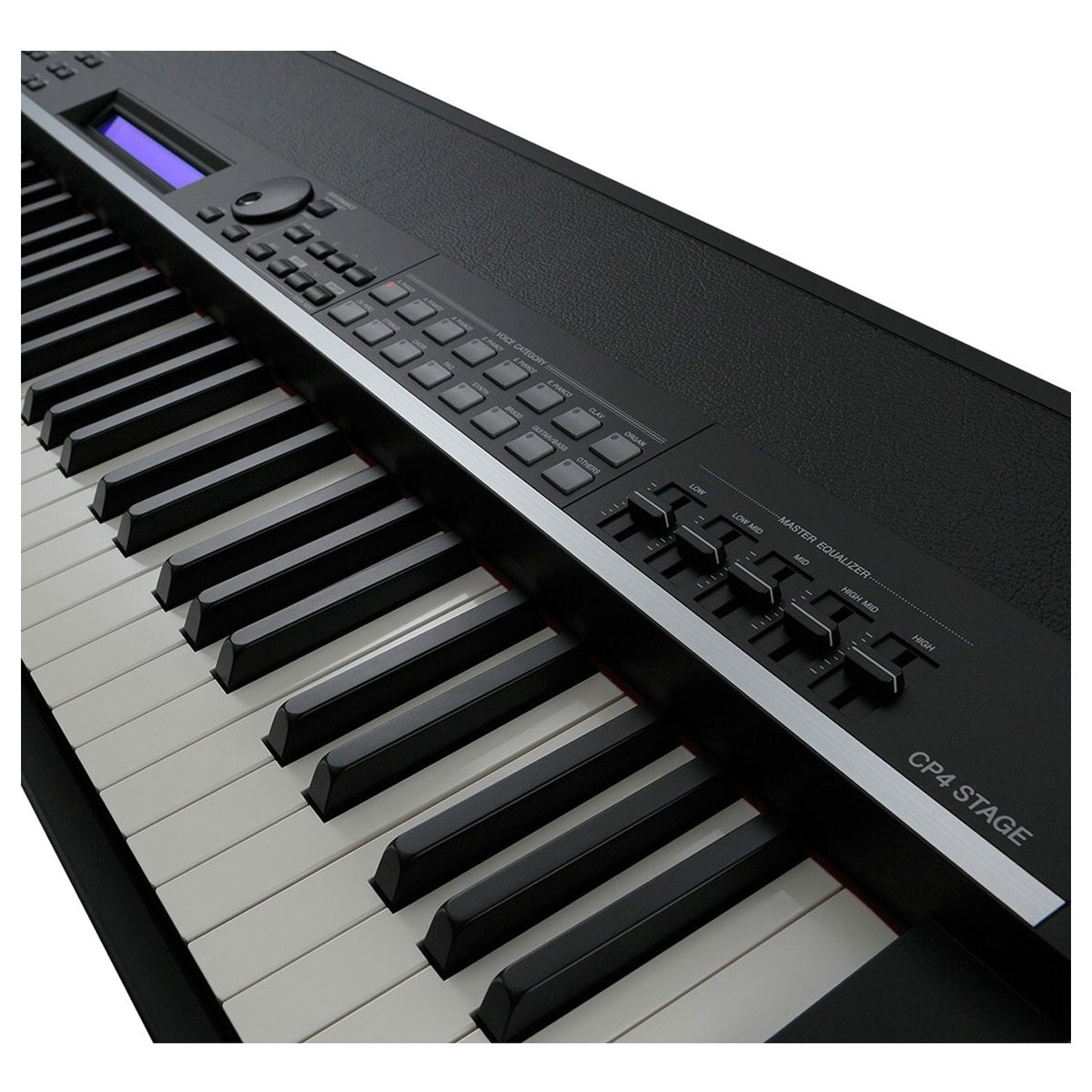 yamaha cp4 digital stage piano black at gear4music