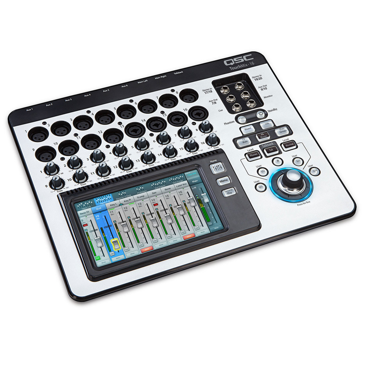 qsc touchmix 16 compact digital mixer box opened at gear4music. Black Bedroom Furniture Sets. Home Design Ideas