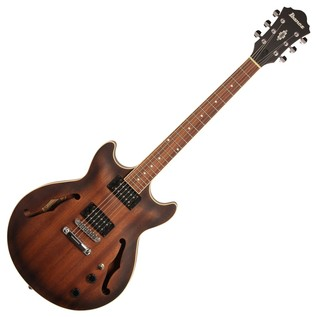 Ibanez Artcore AM53 Electric Guitar, Tobacco Flat