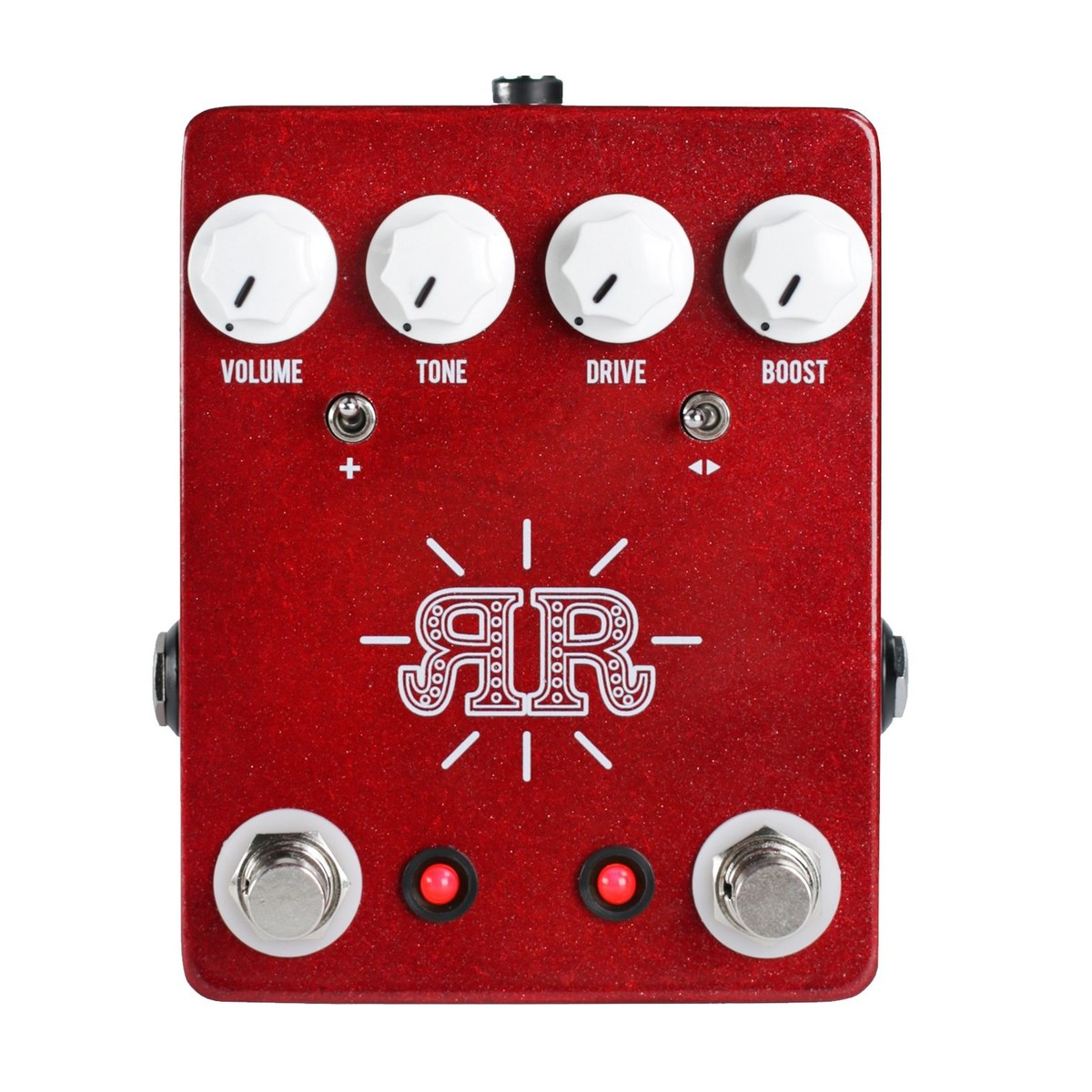 jhs pedals ruby red overdrive distortion and fuzz guitar pedal at gear4music. Black Bedroom Furniture Sets. Home Design Ideas