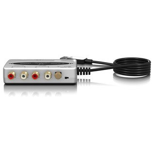 Behringer U-Phono UFO202 USB Vinyl Audio Interface