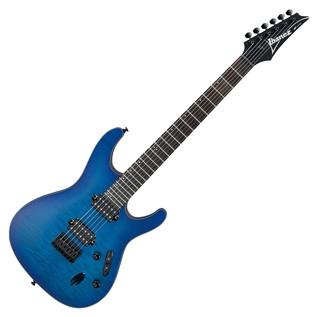 Ibanez S621QM Electric Guitar, Sapphire Blue
