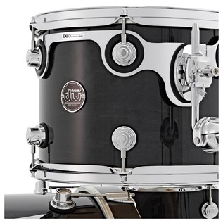 DW Drums Performance Series, 22 3 Piece Shell Pack, Ebony Stain