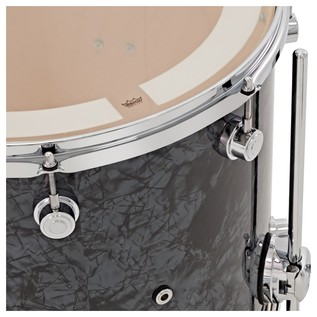 DW Drums Performance Series, 24 3 Piece Shell Pack, Black Diamond