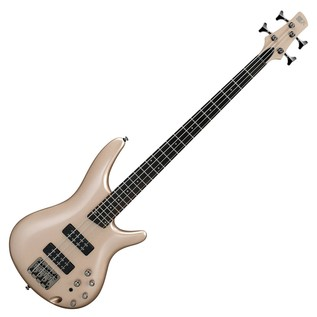 Ibanez SR300E Bass Guitar, Champagne Gold