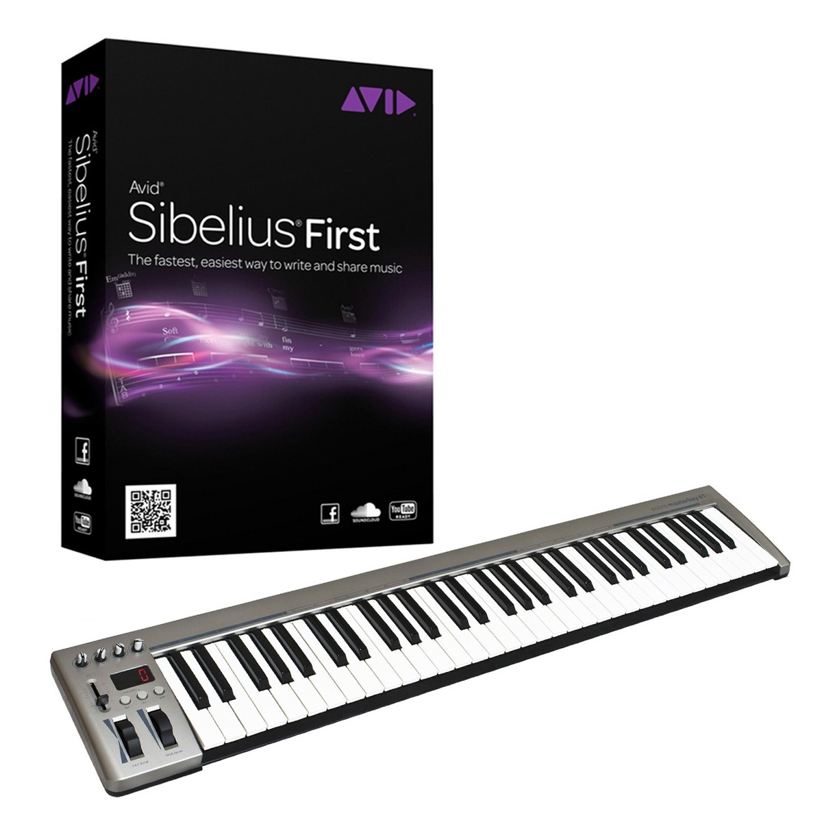 Sibelius With 61 Key Midi Keyboard At Gear4music Wiring Diagram First Loading Zoom