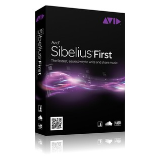 Sibelius First with 61 Key MIDI Keyboard