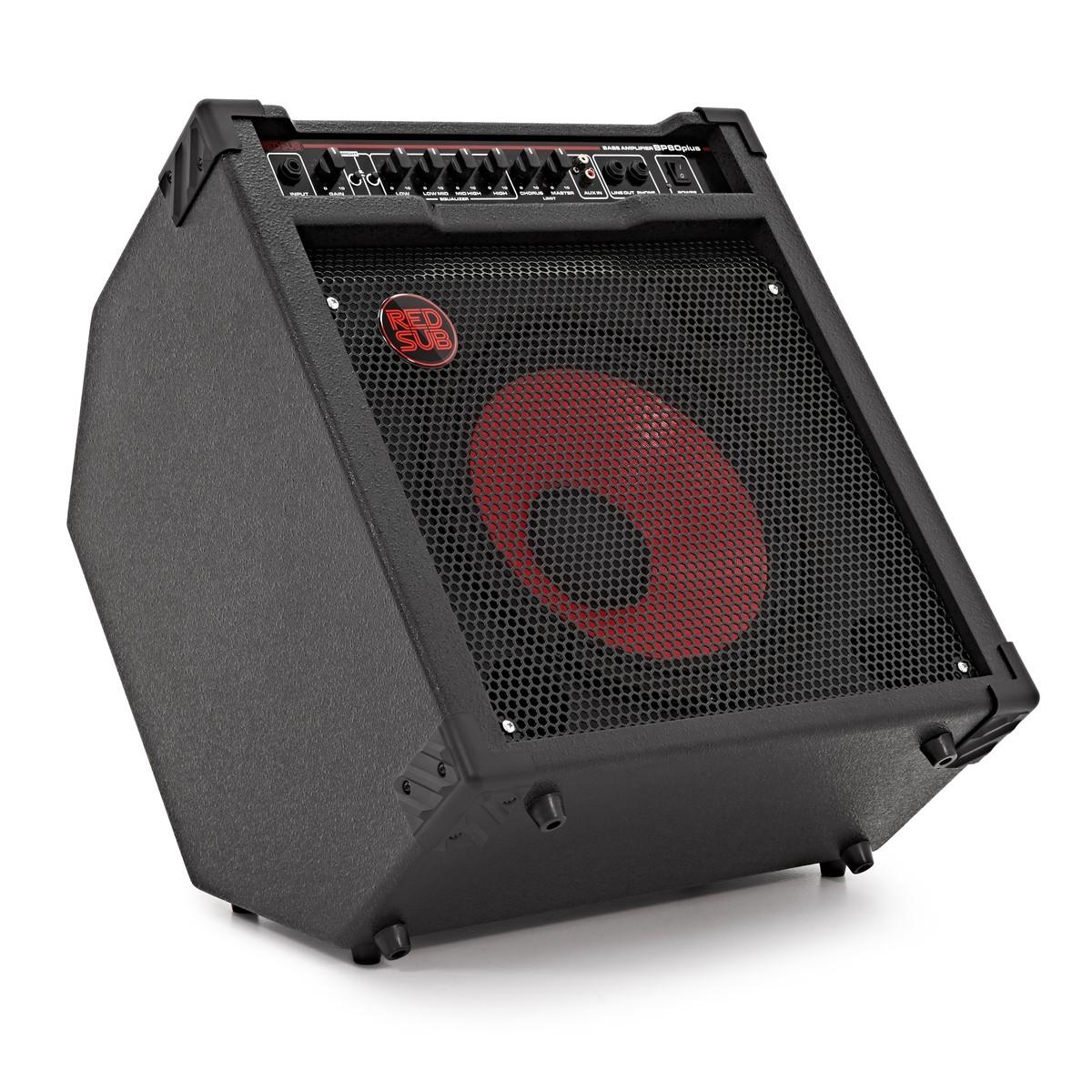 Bass Guitar To Amp : redsub bp80plus 80w bass guitar amplifier at gear4music ~ Hamham.info Haus und Dekorationen