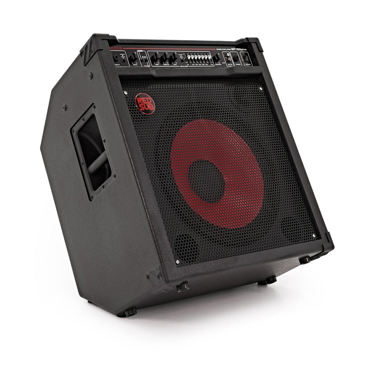 redsub bp150plus 150w bass guitar amplifier at gear4music. Black Bedroom Furniture Sets. Home Design Ideas