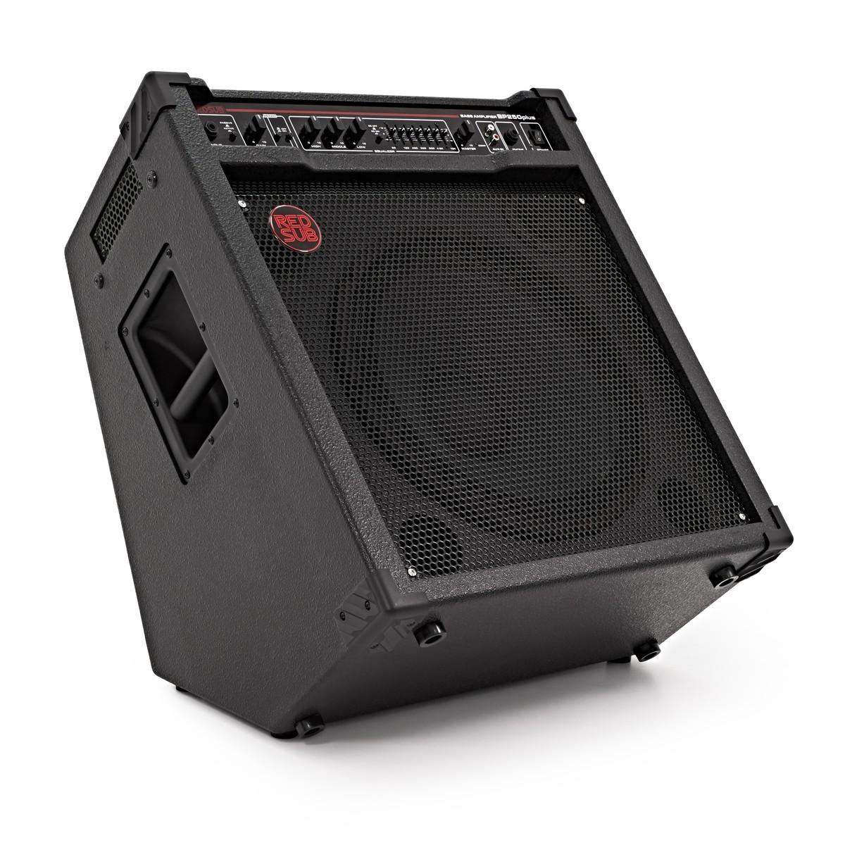 Bass Guitar To Amp : redsub bp250plus 250w bass guitar amplifier at gear4music ~ Hamham.info Haus und Dekorationen