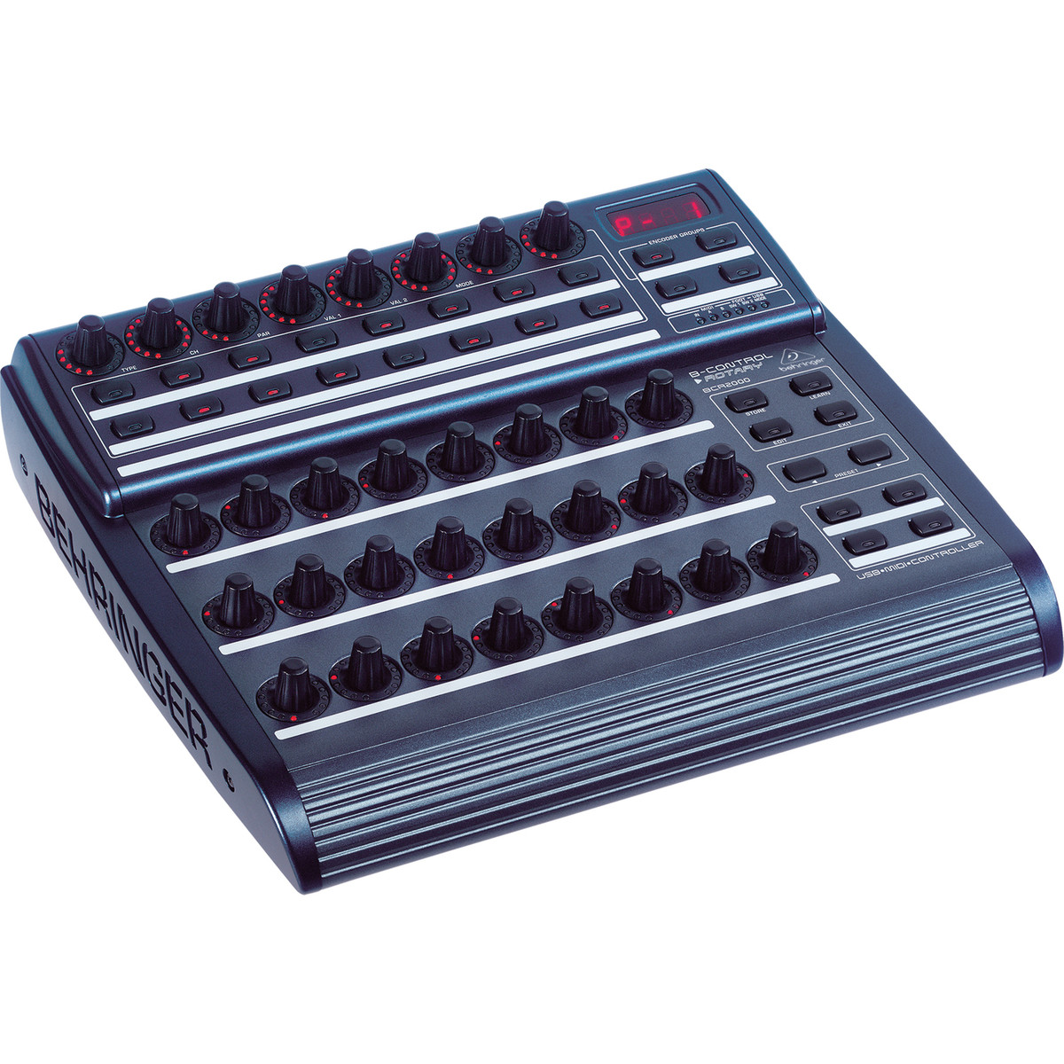 behringer bcr2000 b control rotary midi control surface b stock at gear4music. Black Bedroom Furniture Sets. Home Design Ideas