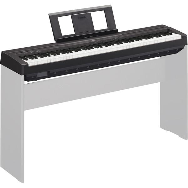 Yamaha P45 Digital Piano, Black