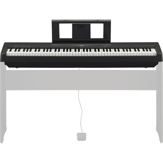 Yamaha P45 Digital Piano, Black