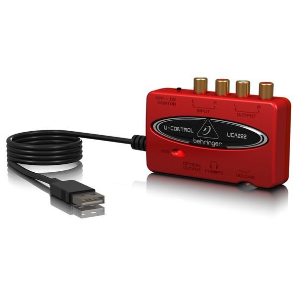 Behringer U-Control UCA222 USB Audio Interface