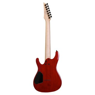 Ibanez S7521QM Electric Guitar, Transparent Red