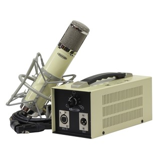 Avantone BV-12 Multi-Pattern Custom Tube Microphone - Mic With Power Supply