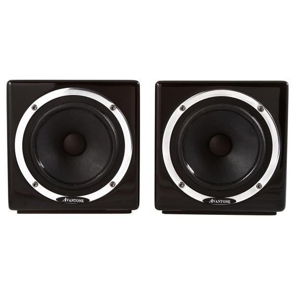 Avantone Mixcubes Passive Studio Monitors, Black (Pair) - Front