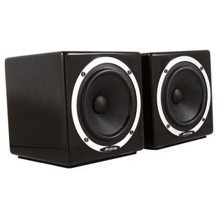 Avantone Mixcubes Passive Studio Monitors, Black (Pair) - Angled