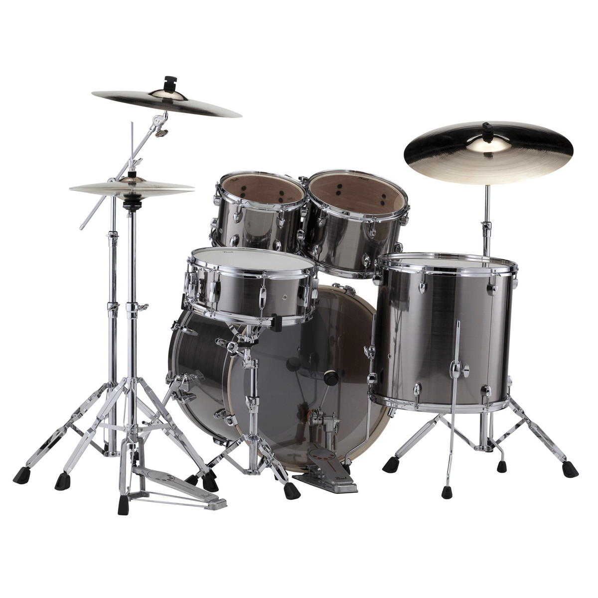 pearl export exx 22 39 39 fusion drums smokey chrome b stock at gear4music. Black Bedroom Furniture Sets. Home Design Ideas